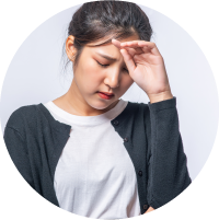 Symptoms of PCOS or PCOD Persistent headaches Treatment In Chennai