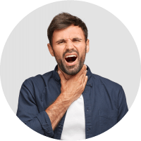 Symptoms of Tonsilitis - Pain while talking and scratching voice