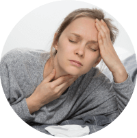Symptoms of Tonsilitis - Difficulty while swallowing