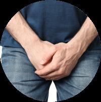 Symptoms of Hydrocele - Heavy scrotum