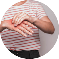 Symptoms of Carpal Tunnel Syndrome - Pain and Numbness