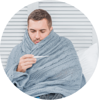 Symptoms of Diabetic Foot Ulcer - Fever and Chills