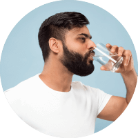 Causes of Varicocele - Habit of Drinking Water While Standing