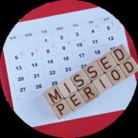 Symptoms of Female Infertility - Long Menstrual Cycle 35 days