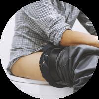 Causes of Pilonidal sinus - Tight clothes